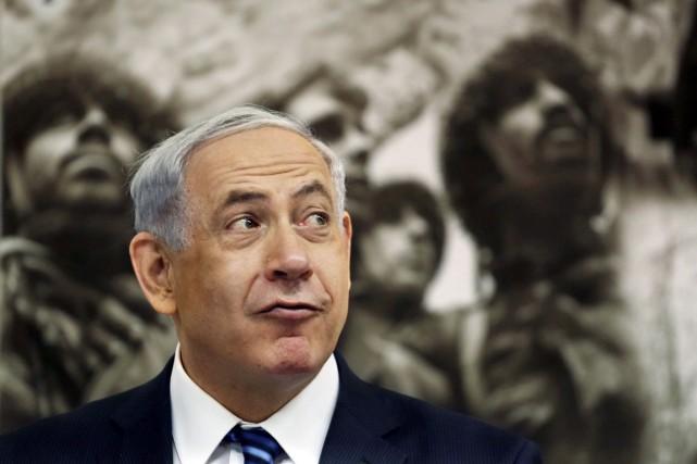«Il y a 47 ans, Jérusalem a été... (PHOTO GALI TIBBON, REUTERS)