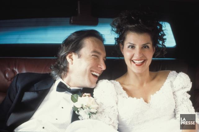 John Corbett et Nia Vardalos dans une scène... (Photo: archives La Presse)