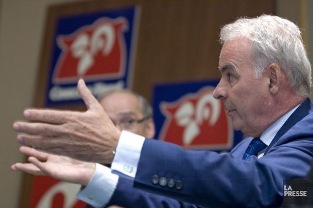 Alain Bouchardcroit que le Québec «dépense trop» depuis... (Photo Alain Roberge, Archives La Presse)