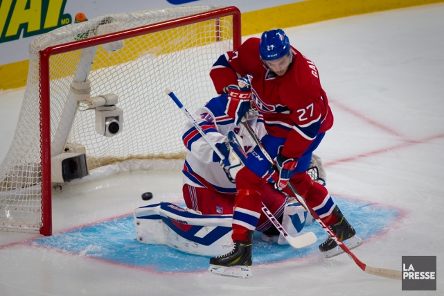 Le hockey des Canadiens Coors Light 2014... (Photo: André Pichette, La Presse)