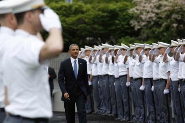 Barack Obama a livré mercredi un long discours... (Photo: Reuters)