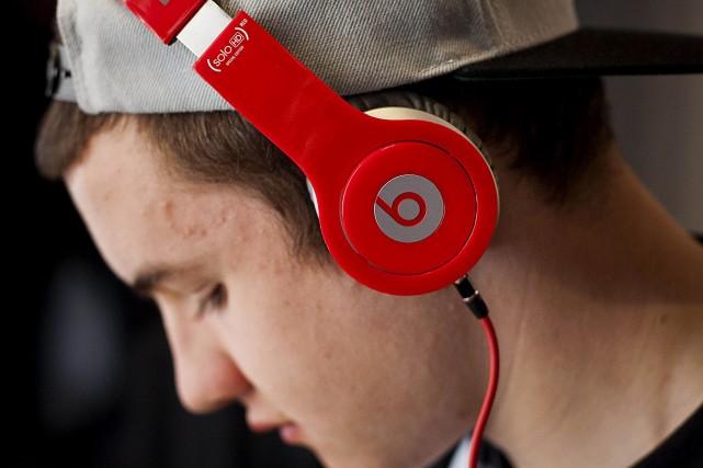 Beats a été fondé par lerappeur Dr Dre... (Photo Archives Bloomberg)