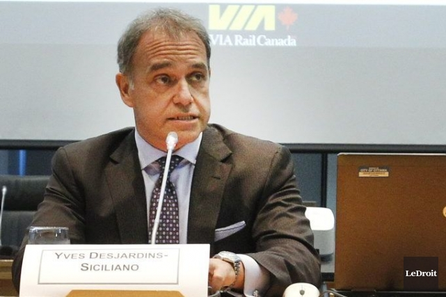 Yves Desjardins-Siciliano a fait ces promesses après avoir... (Photo Patrick Woodbury, LeDroit)
