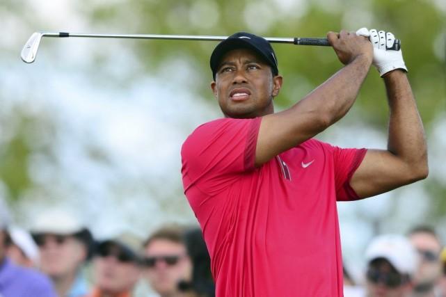 Woods a disputé son dernier tournoi à Doral... (Photo USA Today Sports)