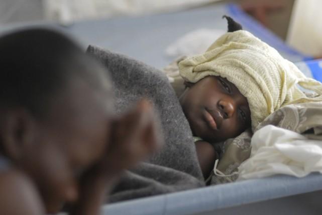 Le choléra a été réintroduit en Haïti par... (Photo: Reuters)