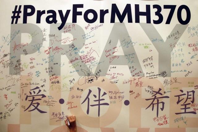 Le Boeing777 de Malaysia Airlines disparu début mars ne s'est pas abîmé dans... (PHOTO AP)