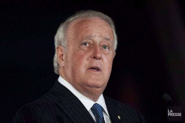 La candidature de l'ex-premier ministre canadien, actuellement vice-président... (Photo Justin Tang, La Presse Canadienne)