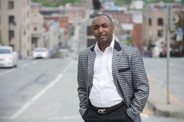 Moustapha Saboun travaille à la mise sur pied... (Photo Rene Marquis, Toronto Star)