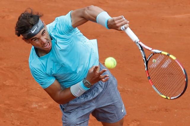 Rafael Nadal a défait Dominic Thiem 6-2, 6-2,... (Photo Darko Vojinovic, AP)