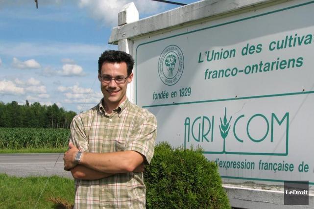Simon Durand, directeur général de l'Union des cultivateurs... (Archives LeDroit)