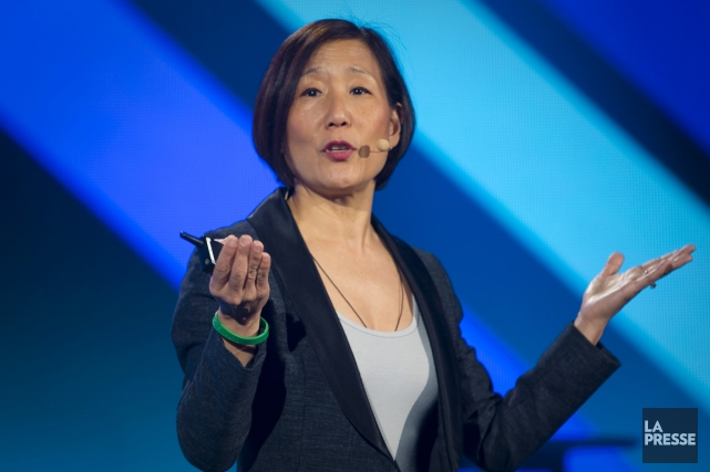 Esther Lee, vice-présidente principale, marketing de marque, publicité... (Photo André Pichette, La Presse)