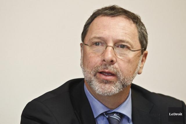 Yves-Thomas Dorval, pdg du Conseil du patronat du... (Patrick Woodbury, LeDroit)