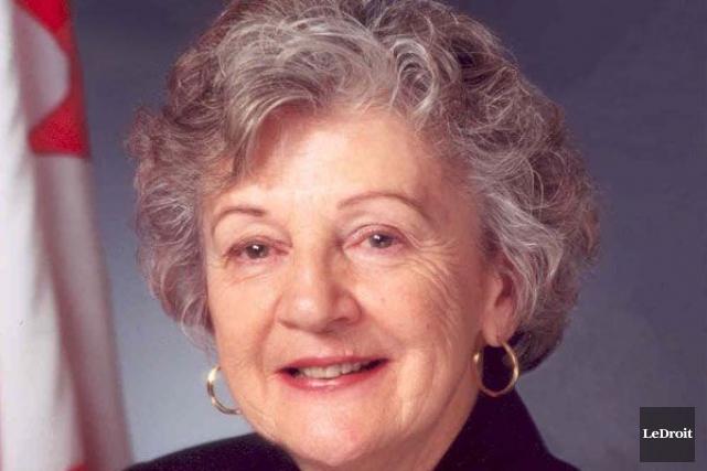 La sénatrice franco-manitobaine Maria Chaput... (Archives LeDroit)