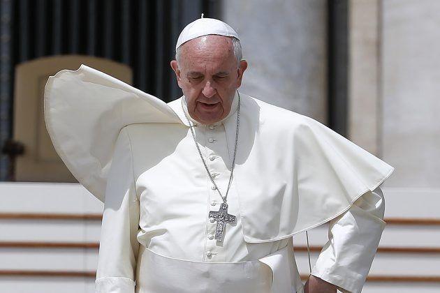 Le pape a précisé qu'il ne s'agissait aucunement... (PHOTO TONY GENTILE, REUTERS)