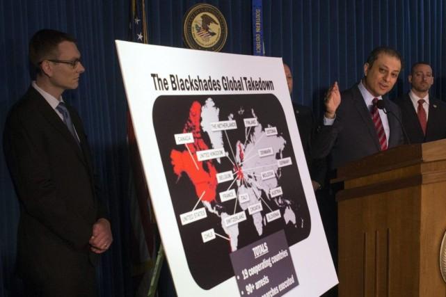 Des procureurs de New York exposent les ramifications... (PHOTO ADREES LATIF, ARCHIVES REUTERS)