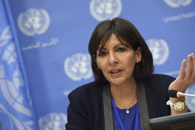 Anne Hidalgo était aux Nations unies pour Paris... (AFP, Emmanuel Dunand)