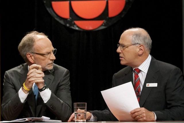 En 2009,l'ancien président de la SRC/CBC, Tim Casgrain... (Photo Pawel Dwulit, archives PC)