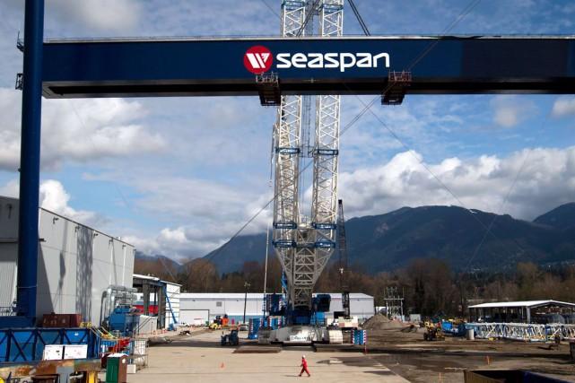 Vancouver Shipyards, du groupe Seaspan... (Photothèque Le Soleil)