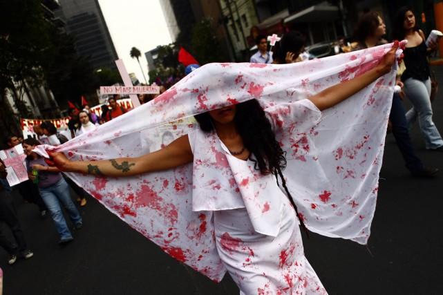 Au Mexique, les femmes sont mal traitées dans... (PHOTO EDGARD GARRIDO, REUTERS)