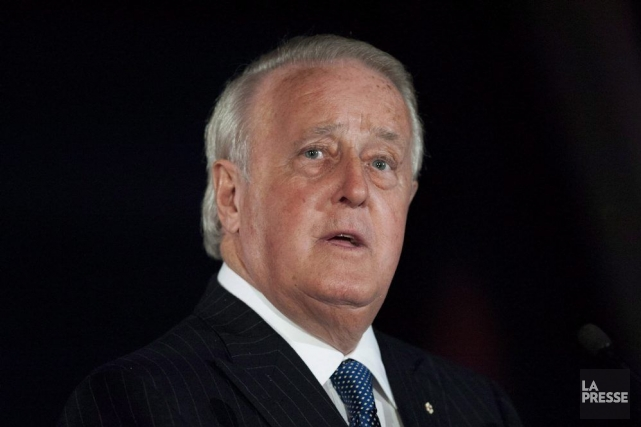 L'ancien premier ministre du Canada Brian Mulroney remplacera... (Photo Justin Tang, La Presse Canadienne)