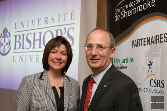 Michael goldbloom aux universit s de fixer le tarif for Chambre commerce sherbrooke