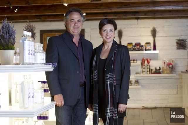 Daniel Joannette et Nancie Ferron, cofondateurs et propriétaires... (Photo Olivier Jean, La Presse)