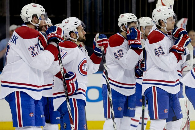 Les joueurs du Canadien n'ont pas à se... (Photo Julie Jacobson, AP)