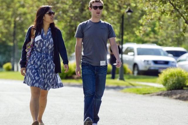 Mark Zuckerberg, le fondateur milliardaire de Facebook, en... (Photo Julie Jacobson, AP)