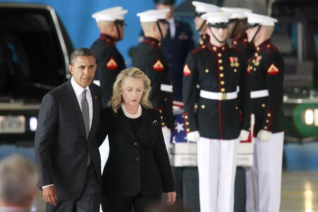 «Hillary et moi, nous sommes copains», a assuré... (PHOTO JASON REED, ARCHIVES REUTERS)