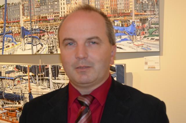 Le maire de Roberval, Guy Larouche... (Archives)