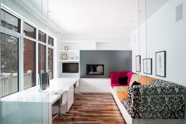 Bien intégrés au décor, ces bureaux cumulent toutes les qualités qui nous... (Photo Paul-André Laroque, fournie par Punkstudio.ca)