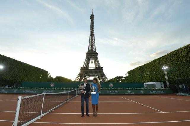Vous êtes amateur de tennis en visite à Paris ce week-end et n'avez pas de... (Photo MIGUEL MEDINA, AFP)
