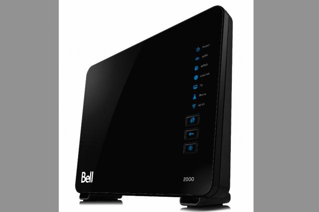 bell lance un nouveau modem routeur plus puissant et plus