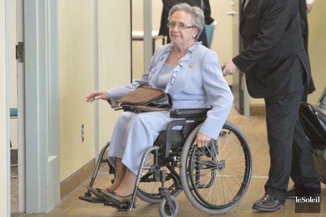 Lise Thibault affirmait qu'elle jouissait d'une immunité royale... (PHOTO PASCAL RATTHÉ, ARCHIVES LE SOLEIL)