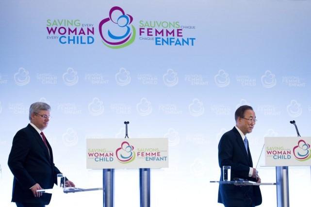 La santé maternelle et infantile tient personnellement à... (Photo Nathan Denette, PC)