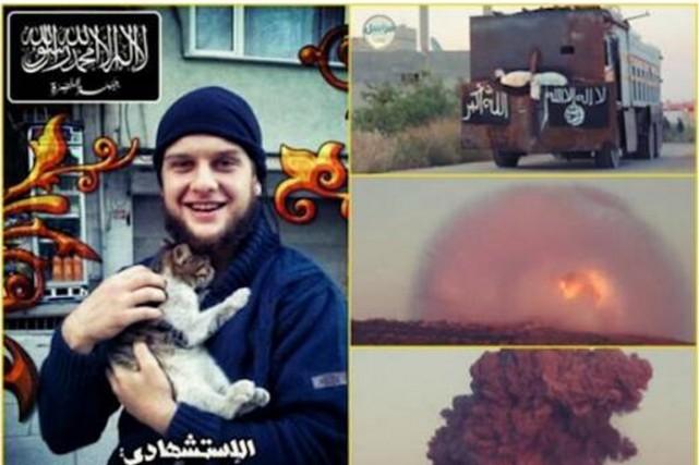 La vidéo, diffusée par SITE Intelligence Group, montre... (Photo tirée de l'internet)