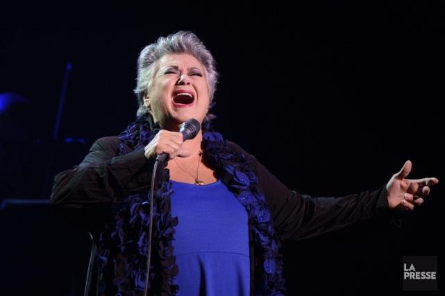 La grande dame de la chanson québécoise a... (Photo Bernard Brault, La Presse)
