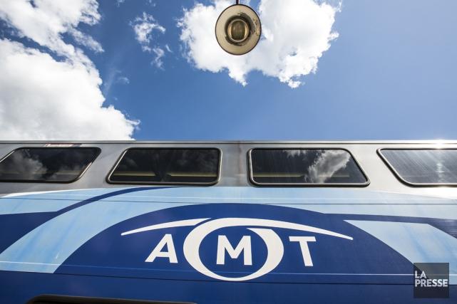 L'Agence métropolitaine de transport (AMT) met un bémol... (Photo Olivier Pontbriand, archives La Presse)