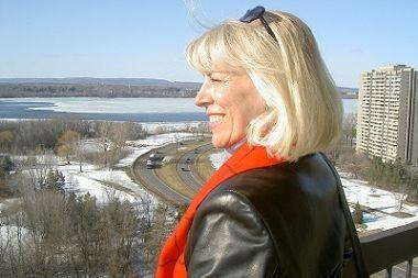 Christine Charbonneau... (Photo tirée de Wikipédia)