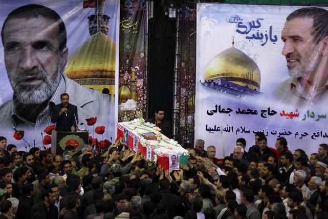 Un commandant des Gardiens de la révolution, Mohammad... (Photo archives AFP)