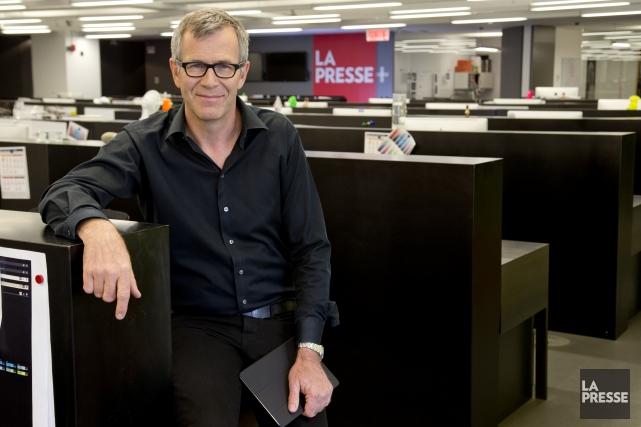 Guy Crevier... (Photo David Boily, La Presse)
