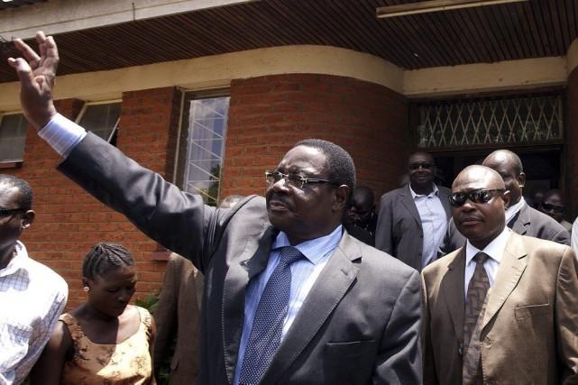 Peter Mutharika, 74 ans, est le frère de... (PHOTO AMOS GUMULIRA, ARCHIVES AFP)