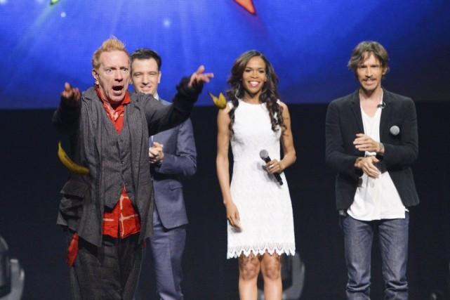 John «Johnny Rotten» Lydon,JC Chasez,Michelle Williams et Brandon... (PHOTO EVAN AGOSTINI, ARCHIVES AP)