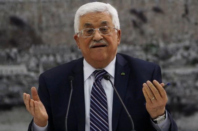 Mahmoud Abbas, le président de l'Autorité palestinienne.... (Photo Mohamad Torokman, archives Reuters)