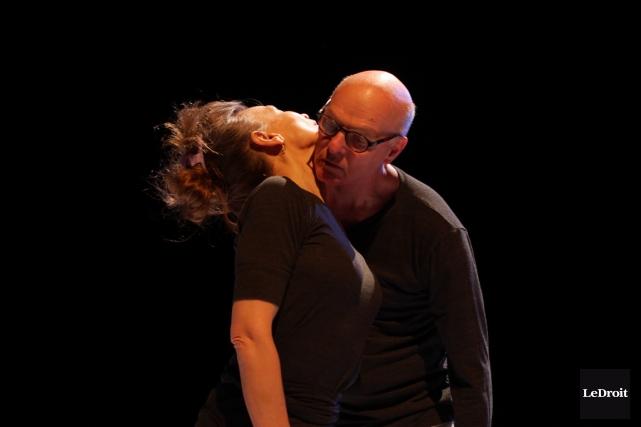 L'oeuvre dansante Misfit Blues réfère au film du... (PHOTO LEDROIT)