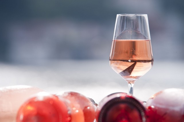 Au total, 128 rosés en format de 750... (Photo Digital/Thinkstock)