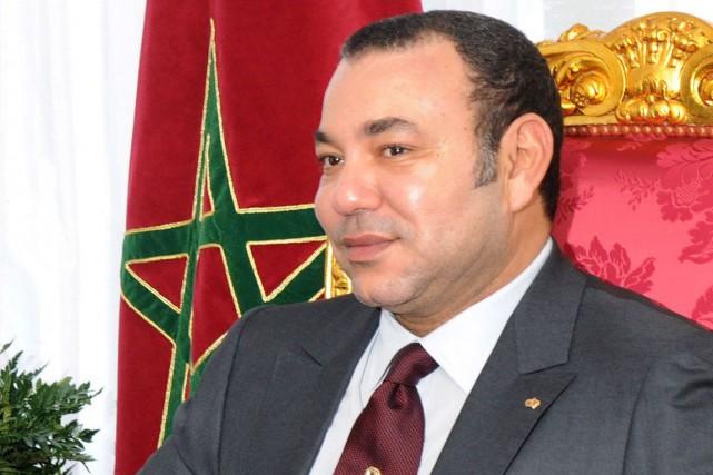 Le roi du Maroc, Mohamed VI.... (Photo ABDELHAK SENNA, AFP)