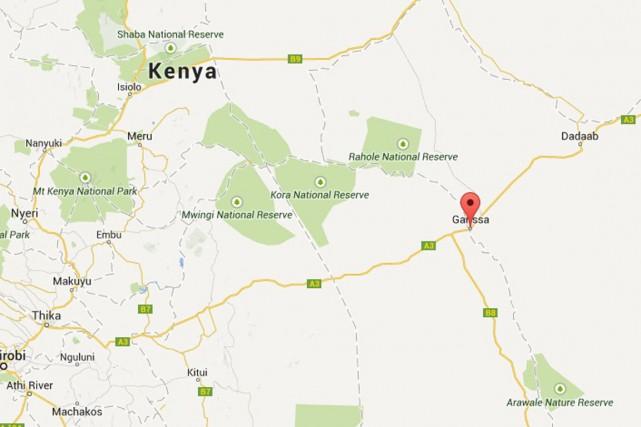 Trois personnes ont été blessées samedi soir dans un attentat à la grenade dans... (Image tirée de Google Maps)