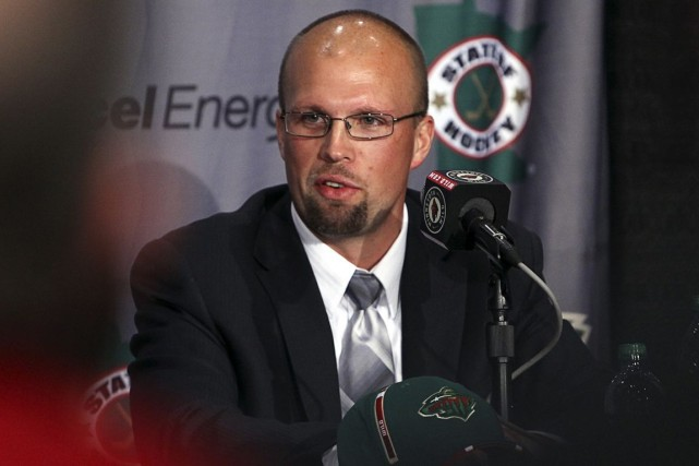 L'entraîneur-chef du Wild du Minnesota, Mike Yeo.... (Photo Archives Reuters)