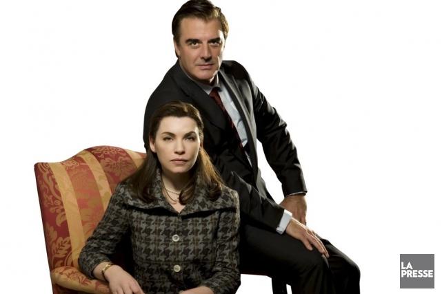 Julianna Margulies et Chris Noth dans The Good... (Photo: archives La Presse)